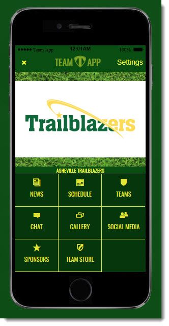 Trailblazers Team App